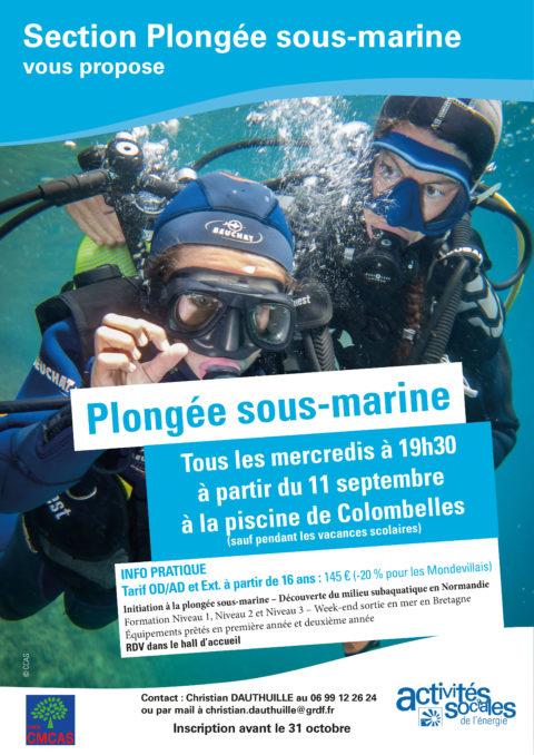Section plongée sous-marine