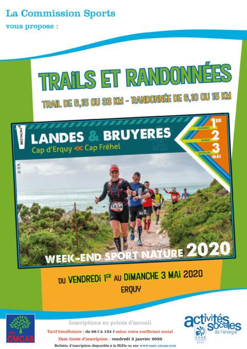 ANNULE : Trails et randonnées «Landes et Bruyères» à Erquy