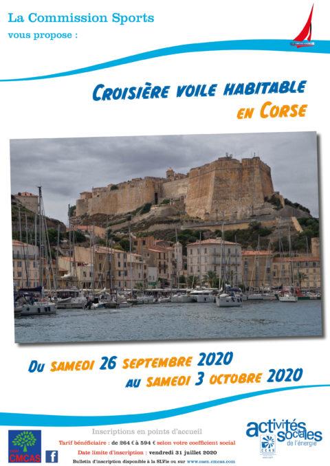 Croisière voile habitable en Corse