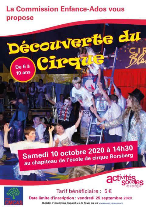 Découverte du Cirque au chapiteau de l'école de cirque de Borsberg