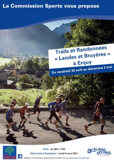 Trails et Randonnées «Landes et Bruyères» à Erquy