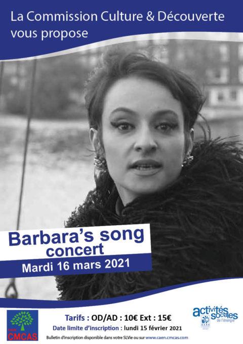 Barbara's song #Annulé