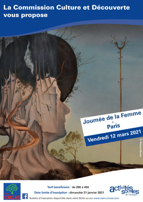 Journée internationale des Droits des Femmes «Sortie à Paris» # Annulée