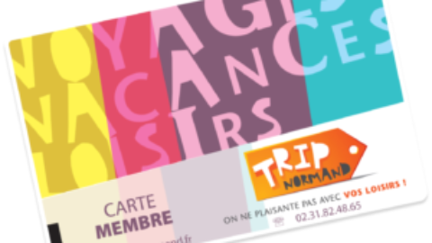 Les cartes Trip Normand 2021 sont arrivées dans vos SLVie !
